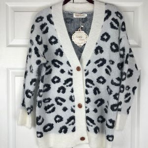 Simply Couture Boutique Fuzzy Cardigan